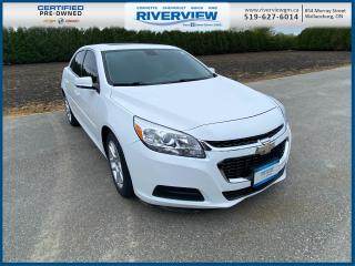 Used 2015 Chevrolet Malibu 1LT No Accidents | Keyless Entry | Remote Start | Power Sunroof | Cruise Control for sale in Wallaceburg, ON