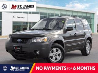 Used 2006 Ford Escape XLT, Local Manitoba Vehicle, Keyless Entry, Cruise Control for sale in Winnipeg, MB