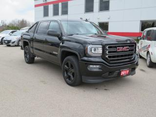 Used 2017 GMC Sierra 1500 SLE Elevation Package with Backup Camera for sale in Tillsonburg, ON