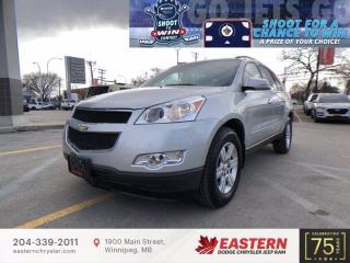 Used 2012 Chevrolet Traverse 2LT | Low KM | 7 Passengers | Backup Cam | for sale in Winnipeg, MB
