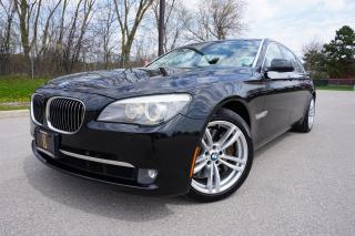 Used 2012 BMW 7 Series STUNNING / EXECUTIVE PACKAGE / NO ACCIDENTS /LOCAL for sale in Etobicoke, ON