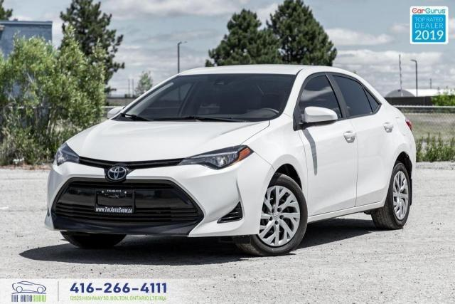 2017 Toyota Corolla LE Heated seats Camera Low kms 