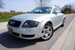 Used 2001 Audi TT STUNNING / 6 SPEED / QUATTRO / LOCAL / STOCK CAR for sale in Etobicoke, ON