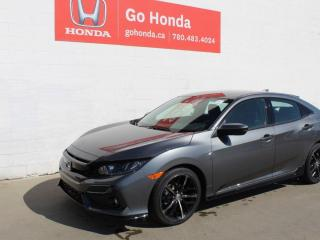 New 2021 Honda Civic Hatchback Sport for sale in Edmonton, AB