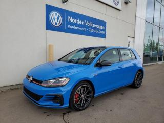 New 2021 Volkswagen Golf GTI Autobahn for sale in Edmonton, AB
