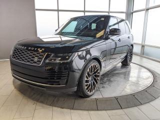 Used 2018 Land Rover Range Rover V8 SUPERCHARGED - OVER $135K MSRP! for sale in Edmonton, AB