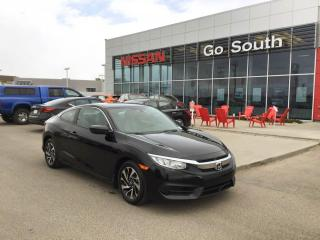 Used 2017 Honda Civic COUPE LX, MANUAL, COUPE for sale in Edmonton, AB