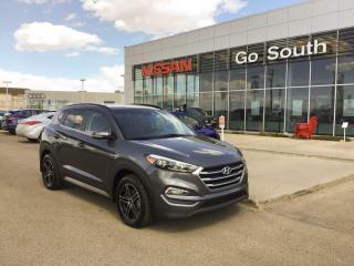 Used 2017 Hyundai Tucson LUXURY, AWD, LEATHER for sale in Edmonton, AB