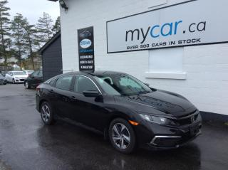 Used 2019 Honda Civic LX HEATED SEATS, BACKUP CAM, MYCAR POWERBUY!! for sale in Richmond, ON