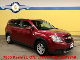 Used 2012 Chevrolet Orlando LT 6 Passenger, 2 Years Warranty for sale in Vaughan, ON