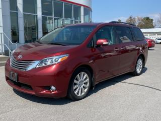 Used 2017 Toyota Sienna Limited 7-Passenger LIMITED+REMOTE START! for sale in Cobourg, ON
