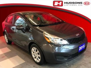Used 2015 Kia Rio LX+ One Owner | + Snow Tires & Rims for sale in Listowel, ON