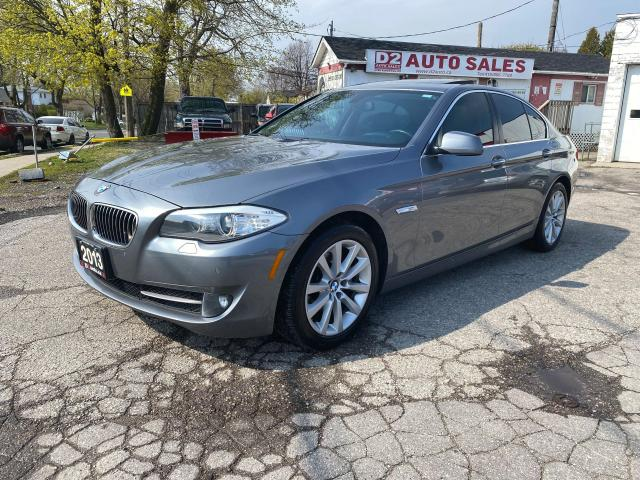 2013 BMW 5 Series 2.0L Turbo/Automatic/Leather/Roof/Navi/Certified