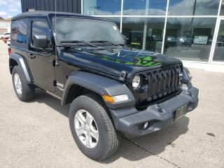 Used 2019 Jeep Wrangler Sport Backup Cam, Dual Climate, Bluetooth!!! for sale in Ingersoll, ON