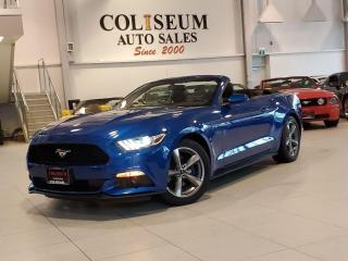 Used 2017 Ford Mustang CONVERTIBLE V6-AUTOMATIC-CAMERA-BLUETOOTH-40KM for sale in Toronto, ON