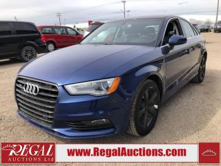 Used 2016 Audi A3 KOMFORT 4D SEDAN AWD 2.0L for sale in Calgary, AB