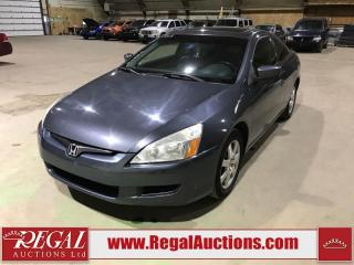 Used 2005 Honda Accord EX 2D Coupe for sale in Calgary, AB