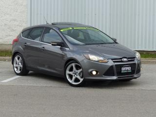 Used 2012 Ford Focus TITANIUM,LEATHER,NAVIGATION,NO-ACCIDENT,CERTIFIED for sale in Mississauga, ON