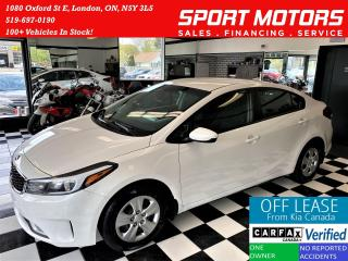 Used 2017 Kia Forte LX+ApplePlay+Camera+New Tires+Brakes+ACCIDENT FREE for sale in London, ON