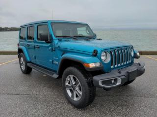 Used 2020 Jeep Wrangler Unlimited Sahara Low K's 4x4 Power Top Heated Seats Bluetooth/CarPlay Backup Cam for sale in Belle River, ON