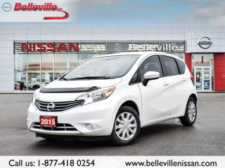 Used 2015 Nissan Versa Note SV  LOCAL TRADE, CLEAN CARPROOF for sale in Belleville, ON