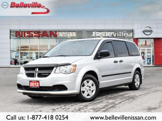 Used 2012 Dodge Grand Caravan SE 1 OWNER LOCAL TRADE, CLEAN CARFAX for sale in Belleville, ON