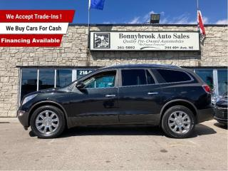 Used 2012 Buick Enclave CXL2/8 PASSENGER/AWD/DVD/LEATHER/SUNROOF for sale in Calgary, AB