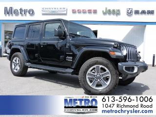 Used 2020 Jeep Wrangler Unlimited Sahara LOADED 4x4 for sale in Ottawa, ON