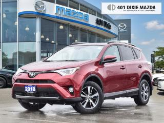Used 2018 Toyota RAV4 XLE SUNROOF|BLIND SPOT MONITORING SYSTEM for sale in Mississauga, ON