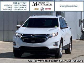 Used 2018 Chevrolet Equinox Premier  1.5L I4 TURBO,AWD,HEATED LEATHER SEATS,RE for sale in Kipling, SK