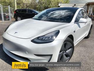 Used 2019 Tesla Model 3 Standard Range LEATHER  ROOF  AUTO PILOT  NAVI  BL for sale in Ottawa, ON