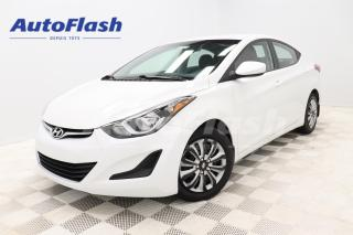 Used 2015 Hyundai Elantra *GL *BLUETOOTH *CRUISE *A/C *GR-ELECTRIQUE for sale in Saint-Hubert, QC