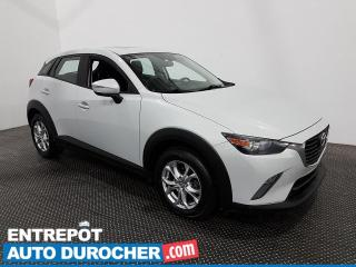 Used 2016 Mazda CX-3 GS - AWD - Toit Ouvrant - Bluetooth - Climatiseur for sale in Laval, QC