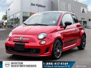 Used 2014 Fiat 500 Abarth - LOCAL - NO ACCIDENTS - HUGE FUN for sale in North Vancouver, BC