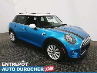 Used 2017 MINI Cooper toit rigide 5 portes Toit Panoramique - Bluetooth - Climatiseur - Cuir for sale in Laval, QC