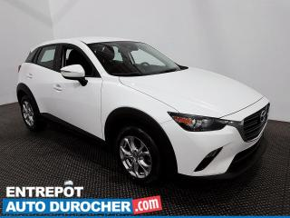 Used 2019 Mazda CX-3 GS- AWD - Bluetooth- Caméra de Recul - Climatiseur for sale in Laval, QC