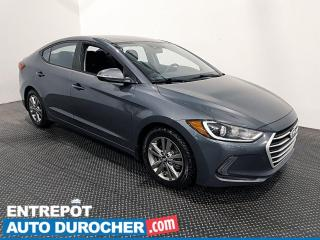 Used 2018 Hyundai Elantra GL - Apple/Android - Caméra de Recul - Climatiseur for sale in Laval, QC