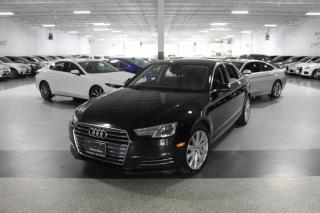 Used 2017 Audi A4 QUATTRO I CARPLAY NAVI I SUNROOF I LEATHER I PUSH START for sale in Mississauga, ON