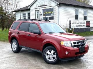 Used 2011 Ford Escape No-Accidents LOW KMS 4WD 4-Cyl A/C Power Group MINT for sale in Sutton, ON