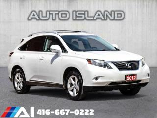 Used 2012 Lexus RX 350 NAVIGATION**AWD**LEATHER**SUNROOF for sale in North York, ON