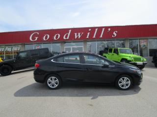 Used 2017 Chevrolet Cruze LT! SPORTS WITH LOW MILEAGE! G SPEED! MANUAL! for sale in Aylmer, ON