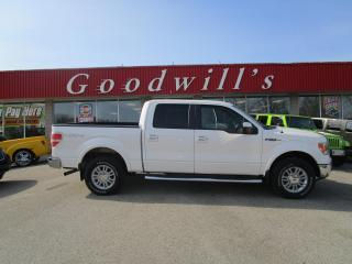 Used 2010 Ford F-150 LARIAT! 4X4! ADJUSTABLE FOOT PEDALS! CLEAN CARFAX! for sale in Aylmer, ON