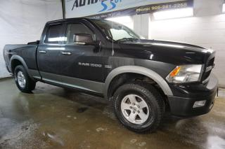Used 2011 Dodge Ram 1500 OUTDOORSMAN HEMI CERTIFIED 2YR WARRANTY BLUETOOTH CRUISE BED COVER for sale in Milton, ON