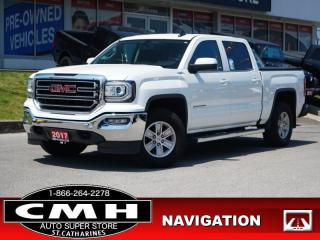 Used 2017 GMC Sierra 1500 SLE  NAV CAM P/SEAT TOW REM-START 17-AL for sale in St. Catharines, ON