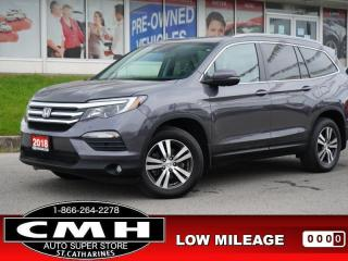 Used 2018 Honda Pilot EX-L Navi AWD  NAV ROOF LEATH HTD-S/W 18-AL for sale in St. Catharines, ON