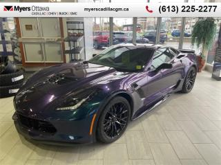 Used 2017 Chevrolet Corvette Z06  Z06, 3LZ, AUTO, TRIPLE BLACK (CURRENTLY WRAPPED) CLEAN CARFAX for sale in Ottawa, ON