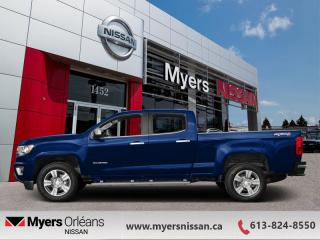 Used 2015 Chevrolet Colorado 4WD Z71  - 4X4 -  Bluetooth - $262 B/W for sale in Orleans, ON