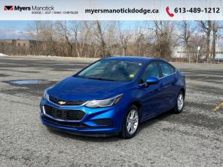 Used 2017 Chevrolet Cruze LT  - Heated Seats -  Touch Screen - $96 B/W for sale in Ottawa, ON
