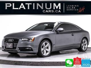 Used 2014 Audi A5 2.0T quattro, AWD, BT, SUNROOF, CRUISE, LEATHER for sale in Toronto, ON