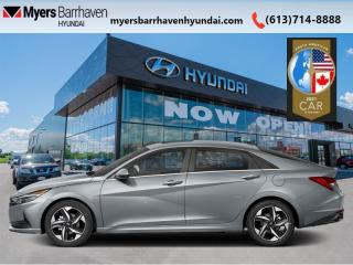New 2021 Hyundai Elantra Ultimate IVT w/Grey Seats  - $164 B/W for sale in Nepean, ON